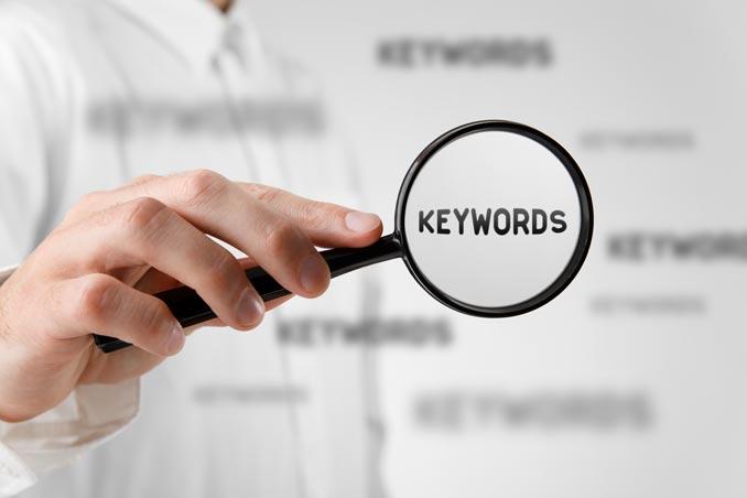 Keywords for CV